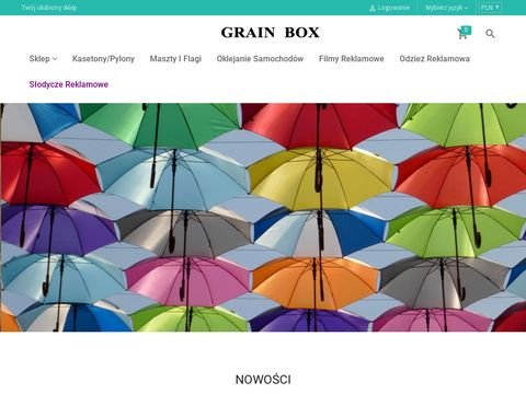 Gadżety i upominki reklamowe GRAIN BOX
