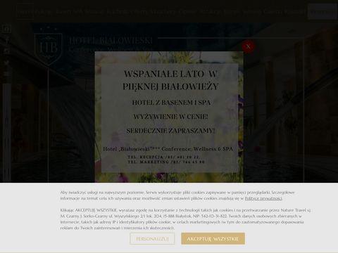 Hotel BIA艁OWIESKI