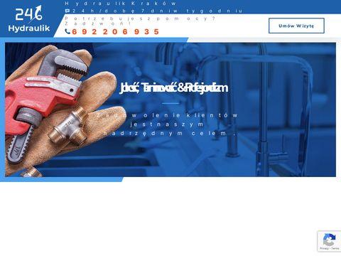 Pogotowie Hydrauliczne 24/7 | Kraków