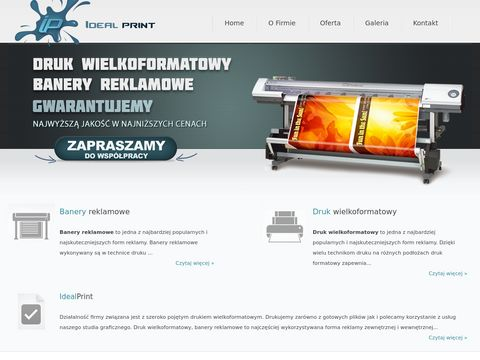 Idealprint.pl - drukarnia warszawa