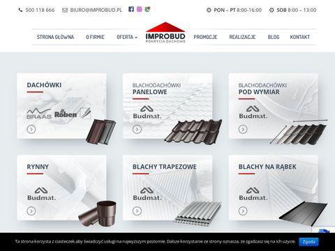 Improbud.pl Blacho dach贸wka 艁abiszyn