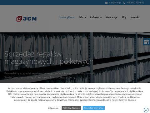 Www.jcm.pl antresole magazynowe