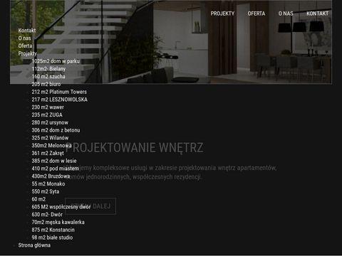 Projektowanie wn臋trz Warszawa - www.jio.pl