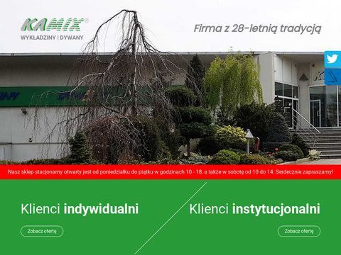 Kamix.com.pl Sprzedaż wykładzin