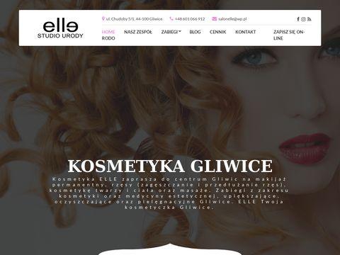 ELLE Studio Urody, makijaż permanentny Gliwice