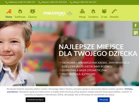 Madzik Place przedszkole z nauką języków obcych Katowice