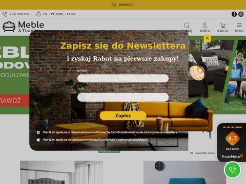 Internetowy Sklep Meblowy MebleTkaniny.pl