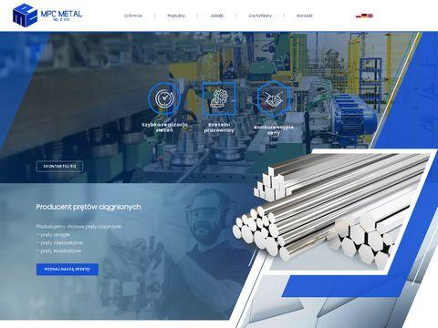 MPC METAL Producent prętów sześciokątnych