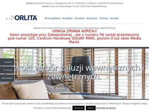 Rolety, żaluzje, markizy, moskitiery - ORLITA Kraków