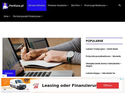 PanKasa.pl - pożyczki online, pożyczka za darmo