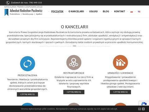 Kancelaria Prawa Gospodarczego Radosław Paulewicz