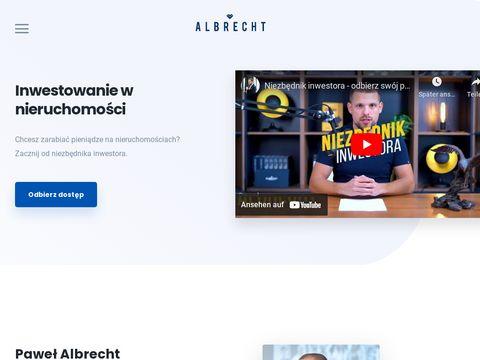 Inwestycje nieruchomości- pawelalbrecht.com