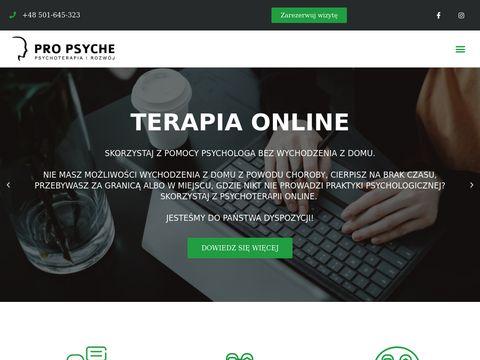 Psycholog Lublin – Pro Psyche