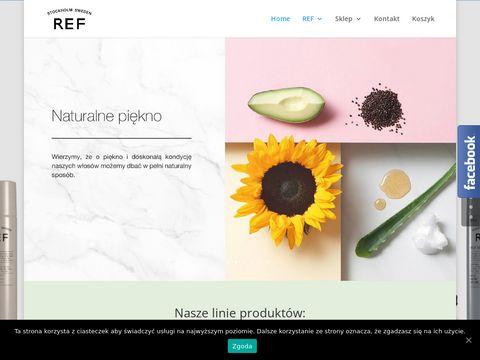 Kosmetyki ekologiczne do w艂os贸w REF