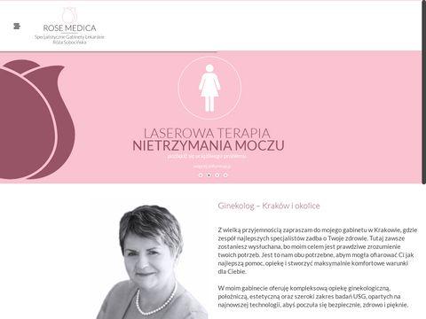 Gabinet ginekologiczny ROSE MEDICA Kraków