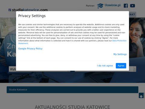Studia w Katowicach - 17 uczelni - kierunki, ceny, zasady rekrutacji