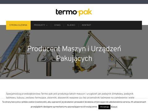 Producent podajnik贸w 艣limakowych - termo-pak.pl