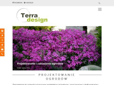 TERRADESIGN - Projektowanie i zak艂adanie ogrod贸w