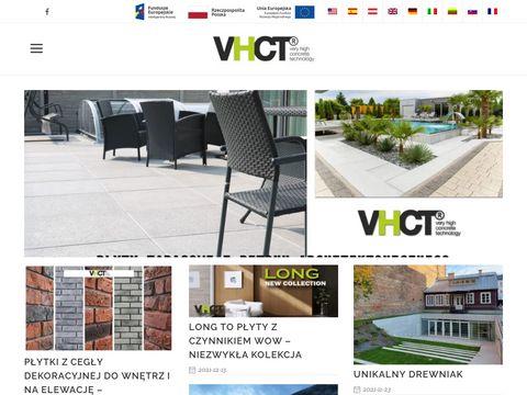 Płyta beton architektoniczny od VHCT z Wrocławia
