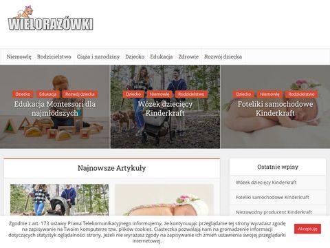 Pieluszki wielorazowe - Wielorazowki.pl