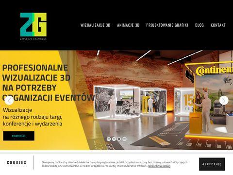 Tworzenie animacji 3D - zapleczegraficzne.pl