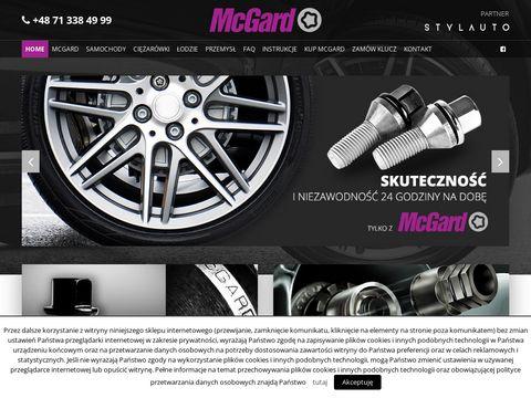 Zabezpieczenia McGard