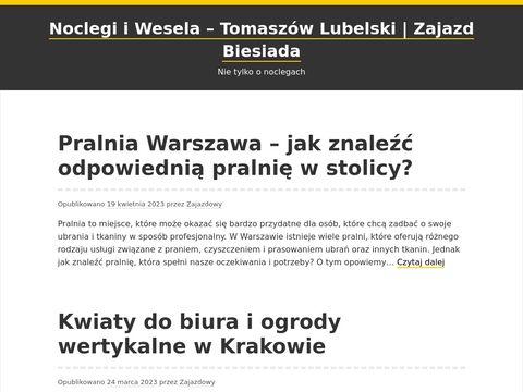 Wesela tomaszów lubelski - zajazd-biesiada.pl