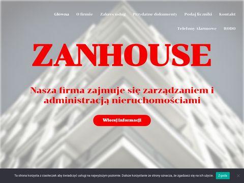 Zanhouse - zarzÄ…dzanie i administracja nieruchomoÅ›ciami
