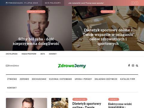 Zdrowojemy.pl - portal na temat zdrowego odżywiania