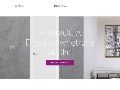 ABC Dom - Drzwi wewn臋trzne | Drzwi zewn臋trzne | Pod艂ogi | Panele |