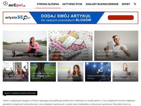 Blog sportowy - mecze, bukmacherzy, zak艂ady sportowe