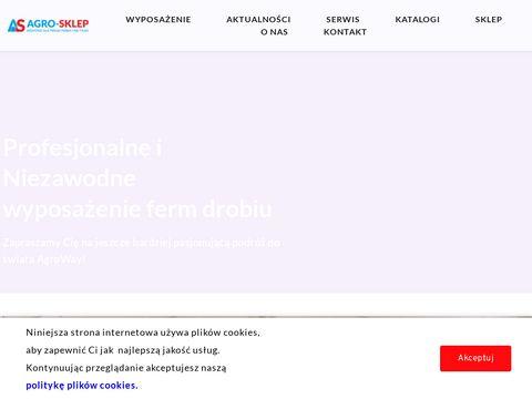 Wyposa偶enie ferm drobiu - niezawodne i profesjonalne | Razem z AS