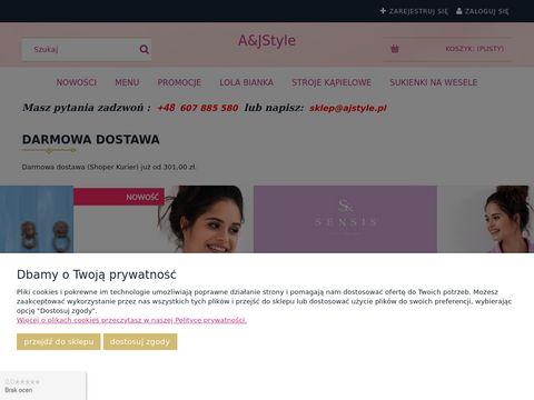 Elegancka odzież damska sklep internetowy - ajstyle.pl