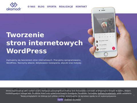 Akamadr.pl - Strony internetowe WordPress, sklepy internetowe PrestaShpo
