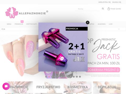 Allepaznokcie - hurtownia kosmetyczna online