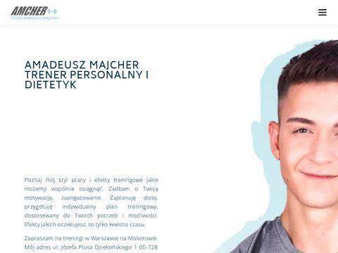 Trener personalny Warszawa Amadeusz Majcher