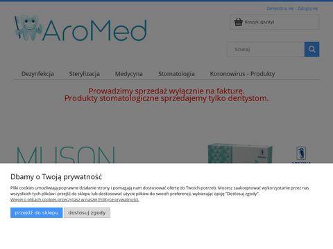 Zaopatrzenie gabinetów dentystycznych - aromed.pl