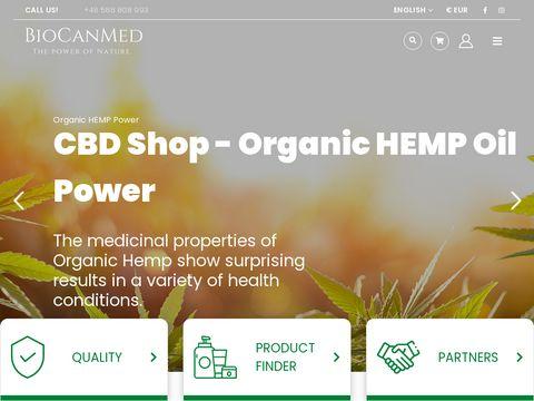 Najlepsze produkty CBD z konopii, Oleje CBD, Olej konopny | Biocanmed