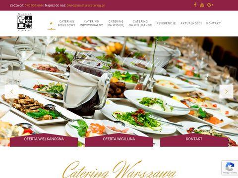 Catering warszawa - Masters Catering