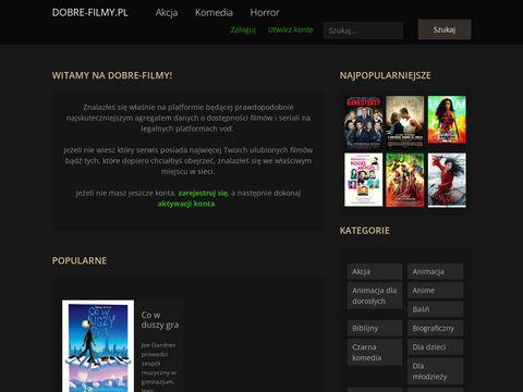 Dobre-filmy.pl - Nowe dobre filmy Online bez limitu i dobre Seriale online