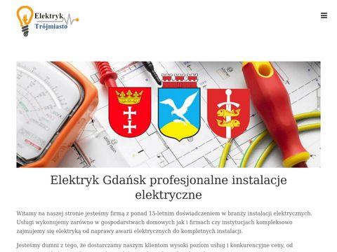 Elektryk Gdańsk usługi elektryczne