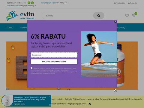 Sklep Zielarski E-Vita - Dbamy o zdrowie klient贸w ju偶 od ponad 20 lat