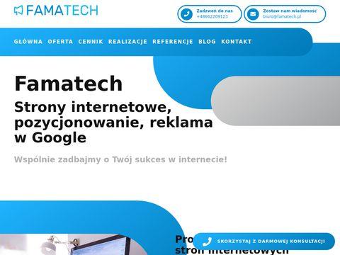 Famatech - Tworzenie Landing Page