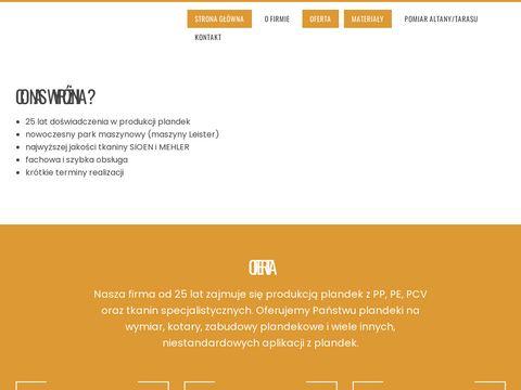 Plandeka - fastplan.pl