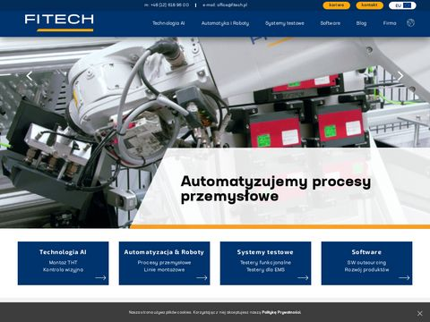 Automatyzacja proces贸w produkcyjnych - fitech.pl