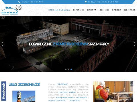 Geomax.net.pl - Skanowanie laserowe budynk贸w