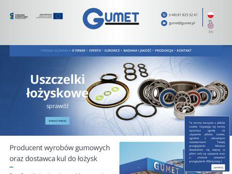 """Zak艂ad Produkcyjny """"GUMET"""" w Kra艣niku"""