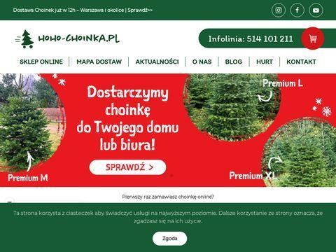 Choinki Warszawa z dostaw膮 - HOHO-CHOINKA.PL