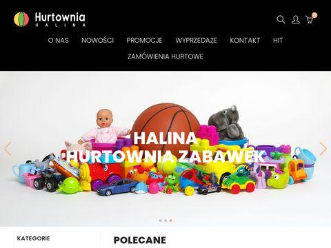 Sklep z zabawkami - hurtowniahalina.com