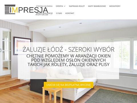 Rolety Łódź - Żaluzje Łódź - Impresja